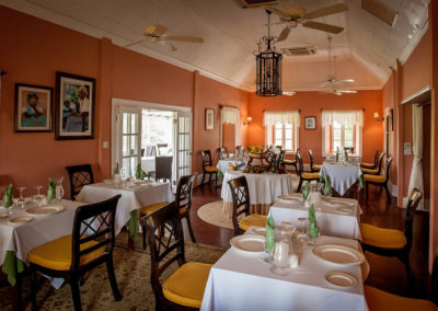 Gourmet Dining at Nisbet Plantation Great House-WIDE