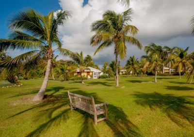 Garden View Suites among the palms at Nisbet Beach Hotel and Resort Nevis